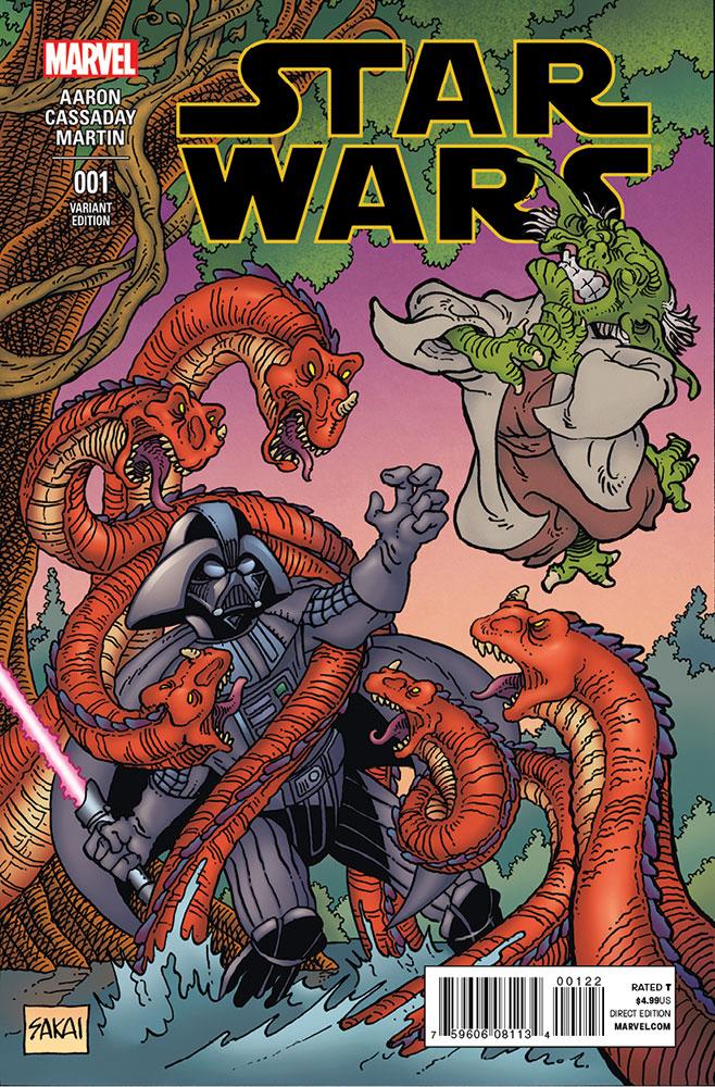 Star Wars #1 (Stan Sakai CSC/BBC Variant Cover) (14.01.2015)