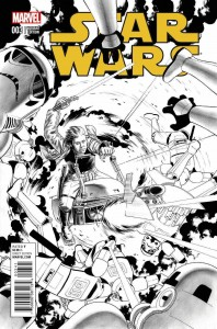 Star Wars #3 (John Cassaday Sketch Variant Cover) (11.03.2015)