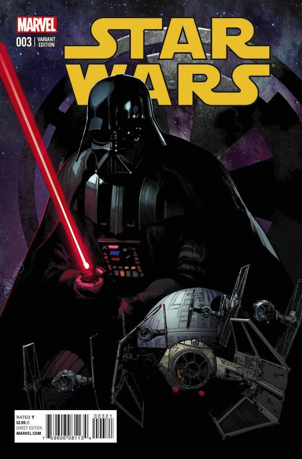 Star Wars #3 (Leinil Francis Yu Variant Cover) (11.03.2015)