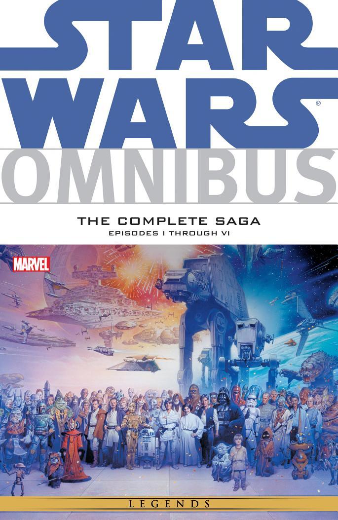 Star Wars Omnibus: The Complete Saga – Episodes I-VI (08.01.2015)