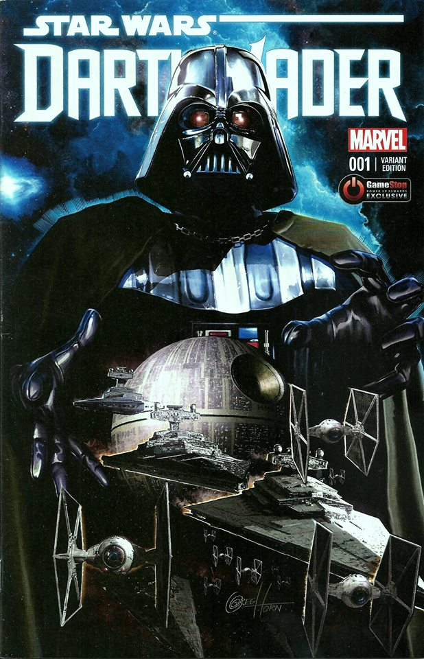 Darth Vader 1 (Greg Horn GameStop Variant Cover) (11.02.2015)