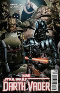 Darth Vader #1 (Salvador Larroca Newbury Comics Variant Cover) (11.02.2015)