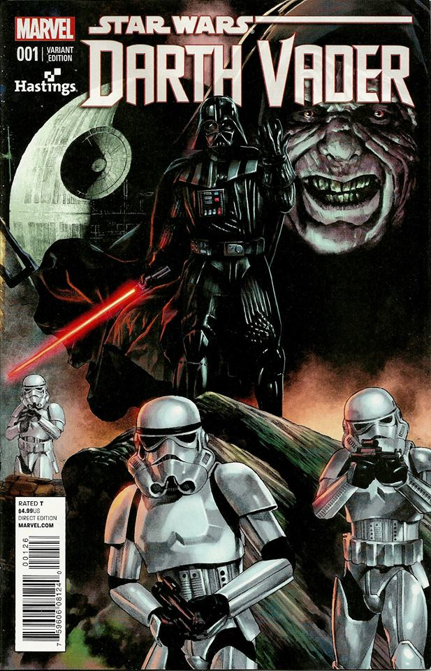 Darth Vader #1 (Mico Suayan Hastings Variant Cover) (11.02.2015)
