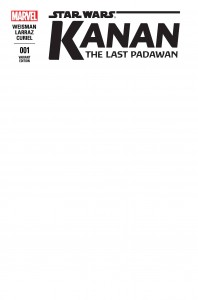 Kanan: The Last Padawan #1 (Blank Variant Cover) (01.04.2015)