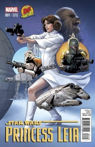 Princess Leia #1 (Greg Land Dynamic Forces Connecting Variant Cover) (04.03.2015)