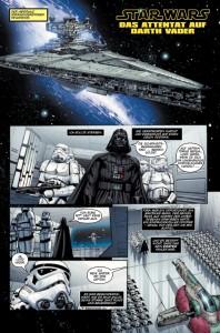 Das Attentat auf Darth Vader Seite 1