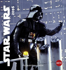 Star Wars Postkartenkalender 2016 (30.03.2015)