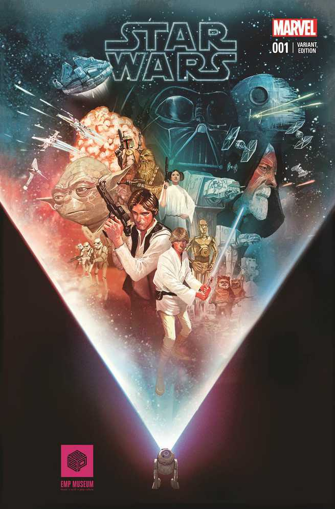 Star Wars #1 (Mike del Mundo EMP Museum Variant Cover) (14.02.2015)