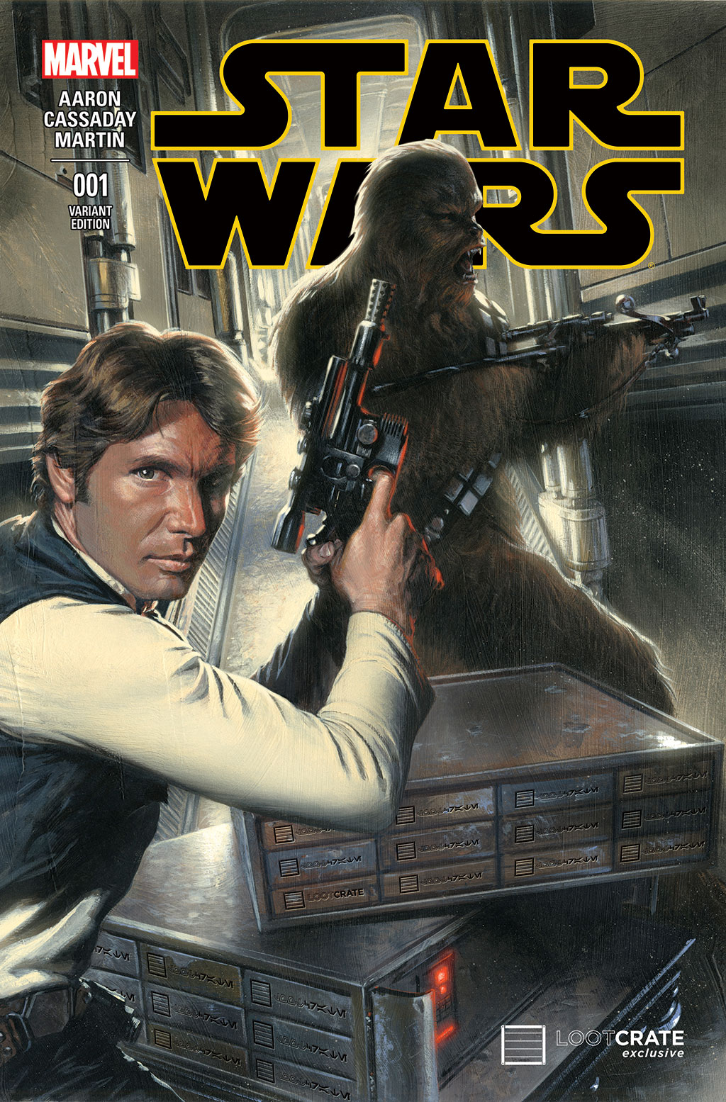 Star Wars #1 (Gabriele Dell'Otto Loot Crate Variant Cover) (14.01.2015)