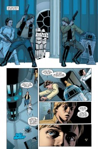 Han, Luke und Leia in <em>Star Wars</em> #1