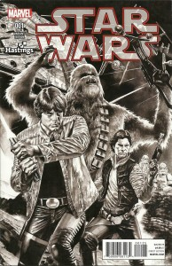 Star Wars #1 (Mico Suayan Hastings Sketch Variant Cover) (14.01.2015)