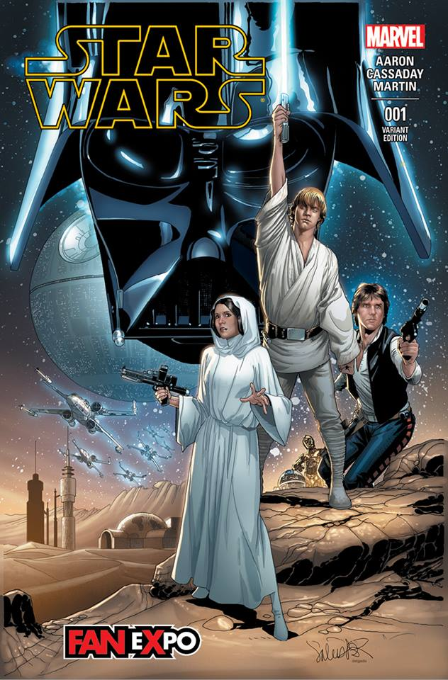 Star Wars #1 (Salvador Larroca Dallas Comic Con Variant Cover) (07.02.2015)
