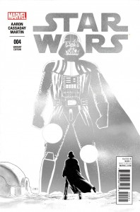 Star Wars #4 (John Cassaday Sketch Variant Cover) (22.04.2015)