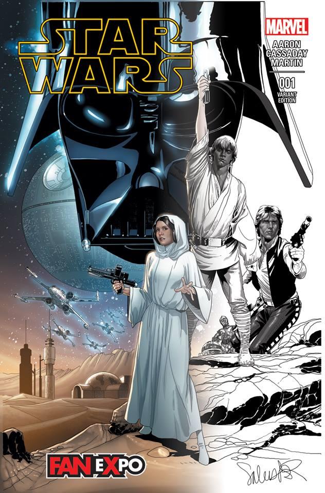 Star Wars #1 (Salvador Larroca Dallas Comic Con Fade Variant Cover) (07.02.2015)