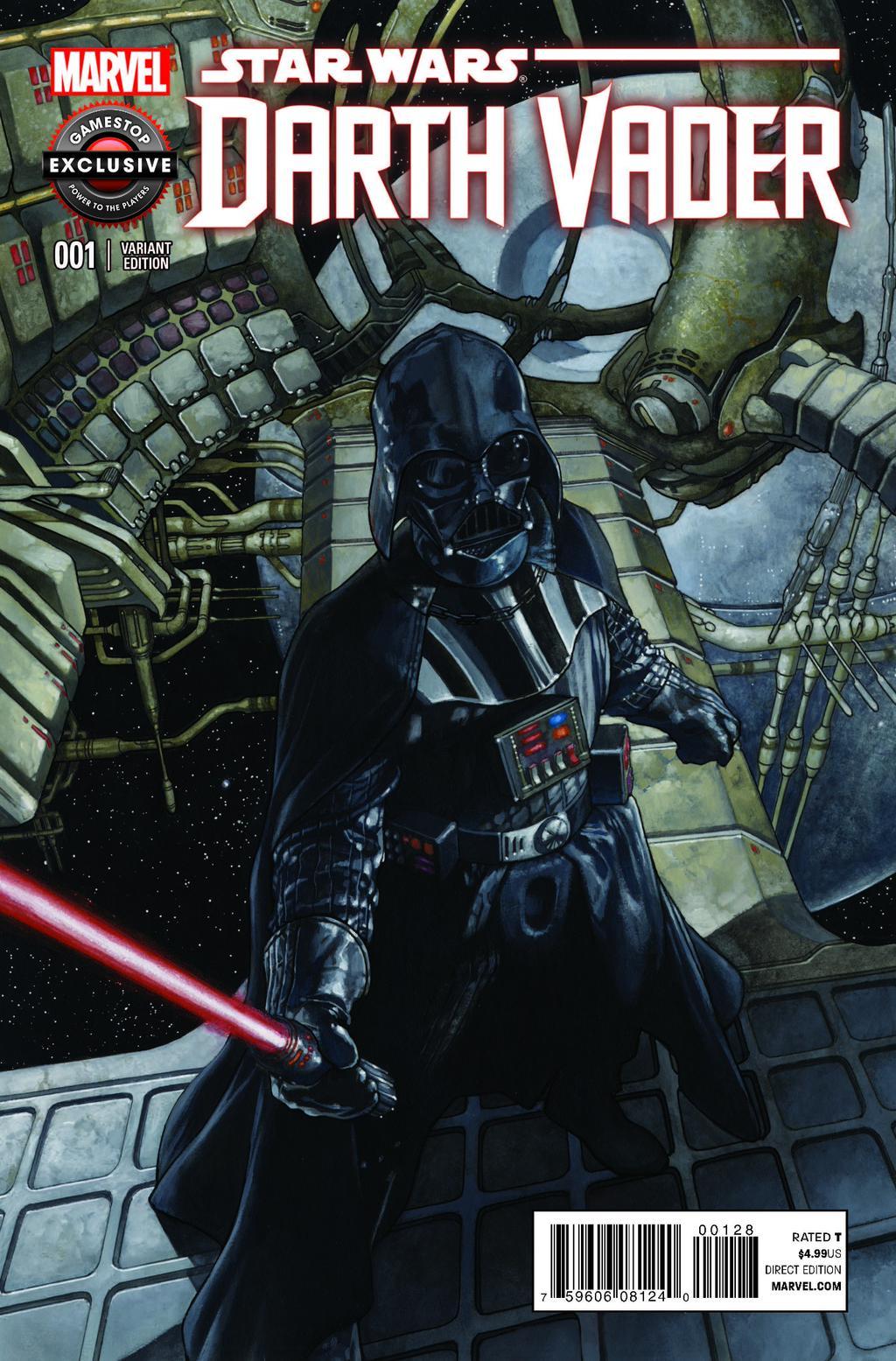 Darth Vader #1 (Simone Bianchi GameStop Variant Cover) (17.02.2015)