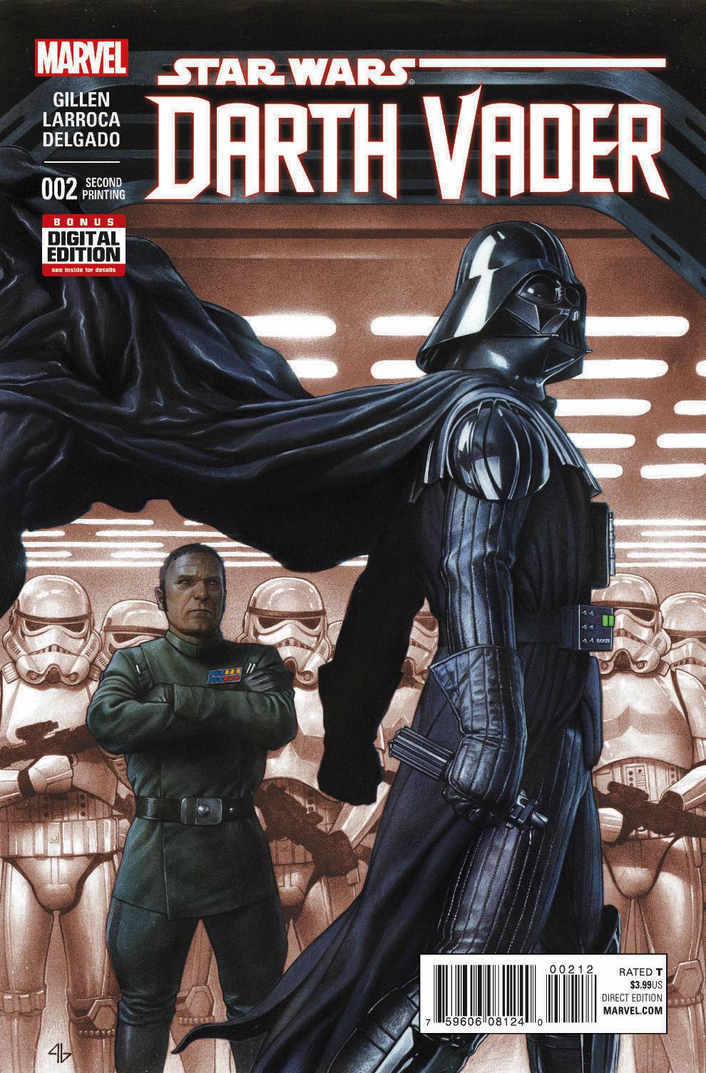 Darth Vader #2 (2nd Printing) (01.04.2015)