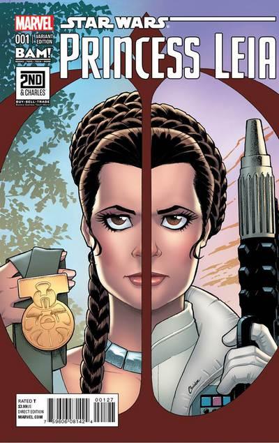 Princess Leia #1 (Amanda Conner 2nd & Charles/Books-A-Million Variant Cover) (04.03.2015)