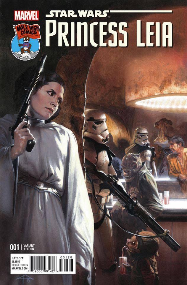 Princess Leia #1 (Gabriele Dell'Otto Mile High Comics Variant Cover) (04.03.2015)