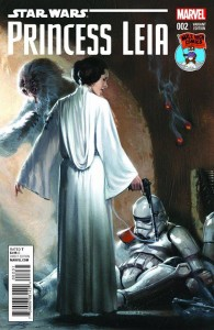 Princess Leia #2 (Gabriele Dell'Otto Mile High Comics Variant Cover) (18.03.2015)