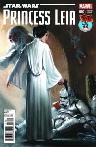 Princess Leia #2 (Gabriele Dell'Otto Mile High Comics Variant Cover) (18.03.2015)