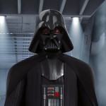 "Darth Vader in ""Fire Across the Galaxy"""