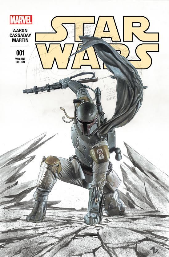 Star Wars #1 (Adi Granov Forbidden Planet Signed Special Edition 'Hoth' Variant) (08.03.2015)