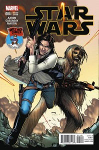 Star Wars #4 (Humberto Ramos Mile High Comics Connecting Variant Cover) (22.04.2015)
