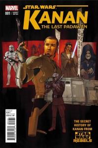 Kanan: The Last Padawan #1 (Kilian Plunkett Variant Cover) (01.04.2015)