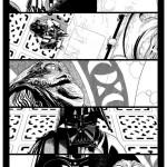 Salvador Larroca - Darth Vader #1 Vorschauseite 1 (mit Tusche)