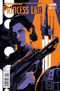 Princess Leia #3 (Francesco Francavilla Variant Cover) (29.04.2015)
