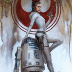 Princess Leia #1 (Adi Granov Emerald City Comicon Variant Cover) (27.03.2015)
