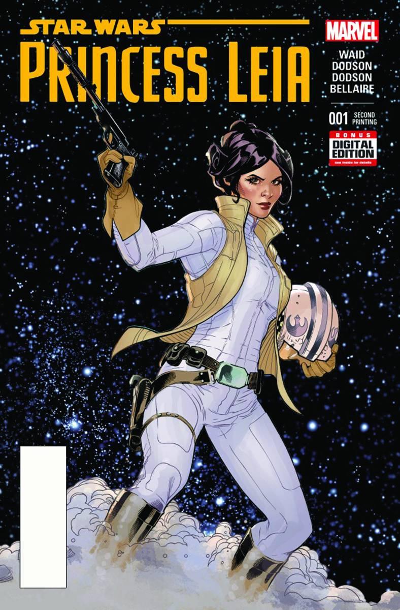 Princess Leia #1 (2nd Printing) (22.04.2015)