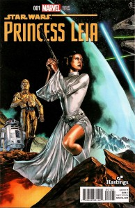 Princess Leia #1 (Mico Suayan Hastings Connecting Variant Cover) (04.03.2015)