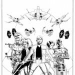 Star Wars #1 Cover - Schritt 3