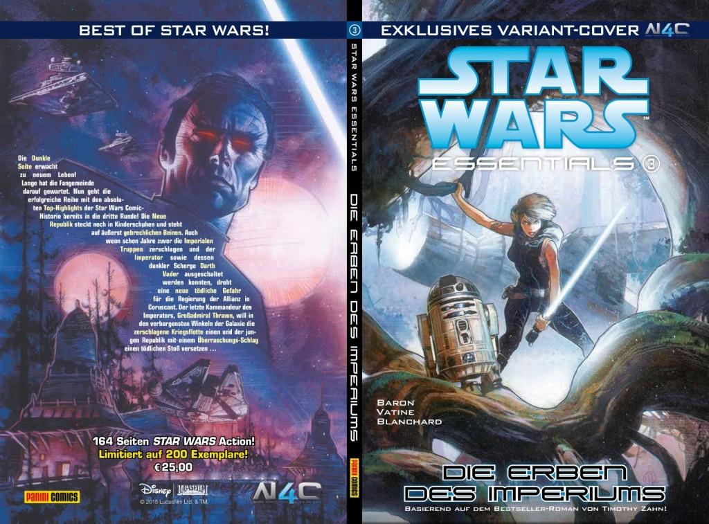 Star Wars Essential #3: Die Erben des Imperiums (Noris Force Con Variantcover) (11.09.2015)