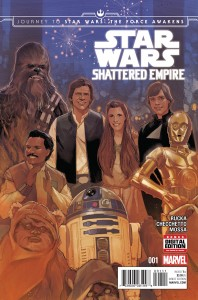 Journey to Star Wars: The Force Awakens: Shattered Empire #1 (09.09.2015)