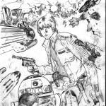 Star Wars #8 (unfertiges Cover von Stuart Immonen)