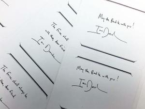 "Autogrammaufkleber (""Exlibris"")"