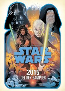 Star Wars 2015 Del Rey Sampler