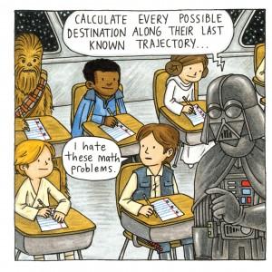 Vorschauseite aus Darth Vader and Friends