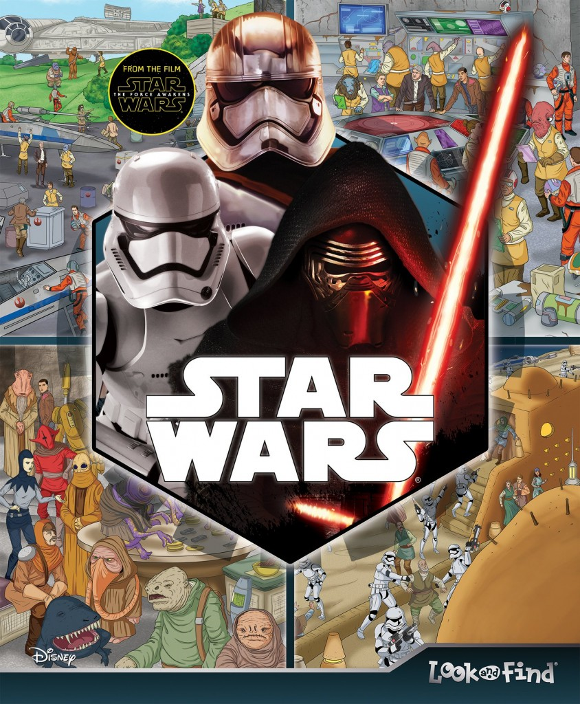 Star Wars: The Force Awakens Look and Find (18.12.2015)