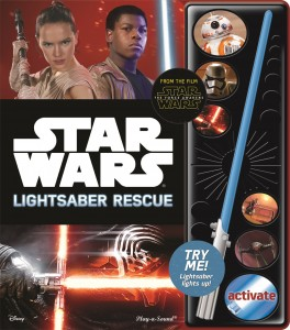 Star Wars: The Force Awakens Lightsaber Rescue (18.12.2015)