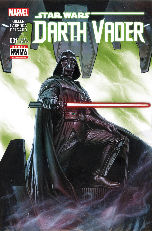 Darth Vader #1 (3rd Printing) (06.05.2015)