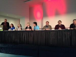Die Teilnehmer des Kanon-Panels