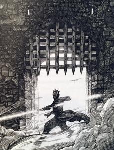 Darth Maul in The Phantom of Menace