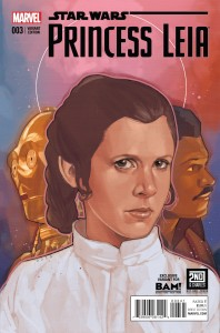 Princess Leia #3 (Phil Noto Books-A-Million Connecting Variant Cover) (29.04.2015)