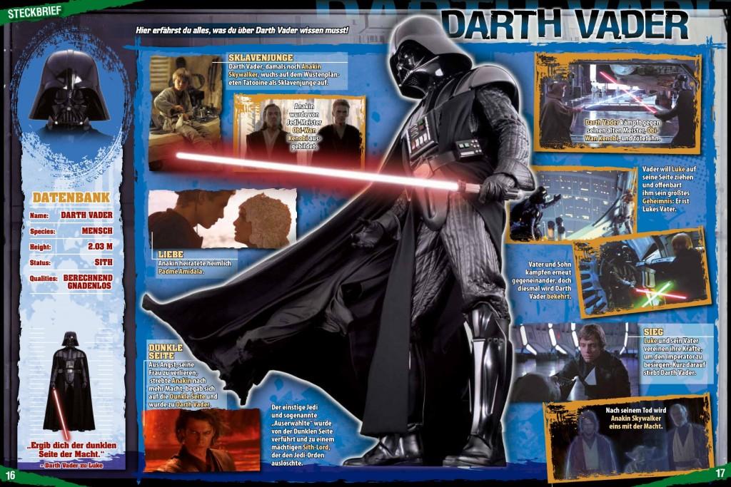 Star Wars Magazin #1 - Darth-Vader-Steckbrief