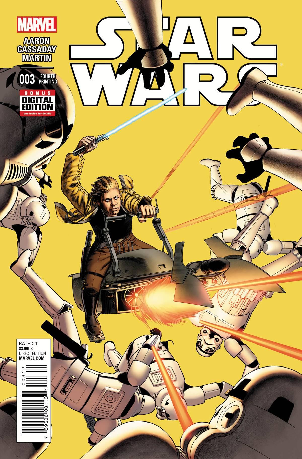 Star Wars #3 (4th Printing) (04.11.2015)