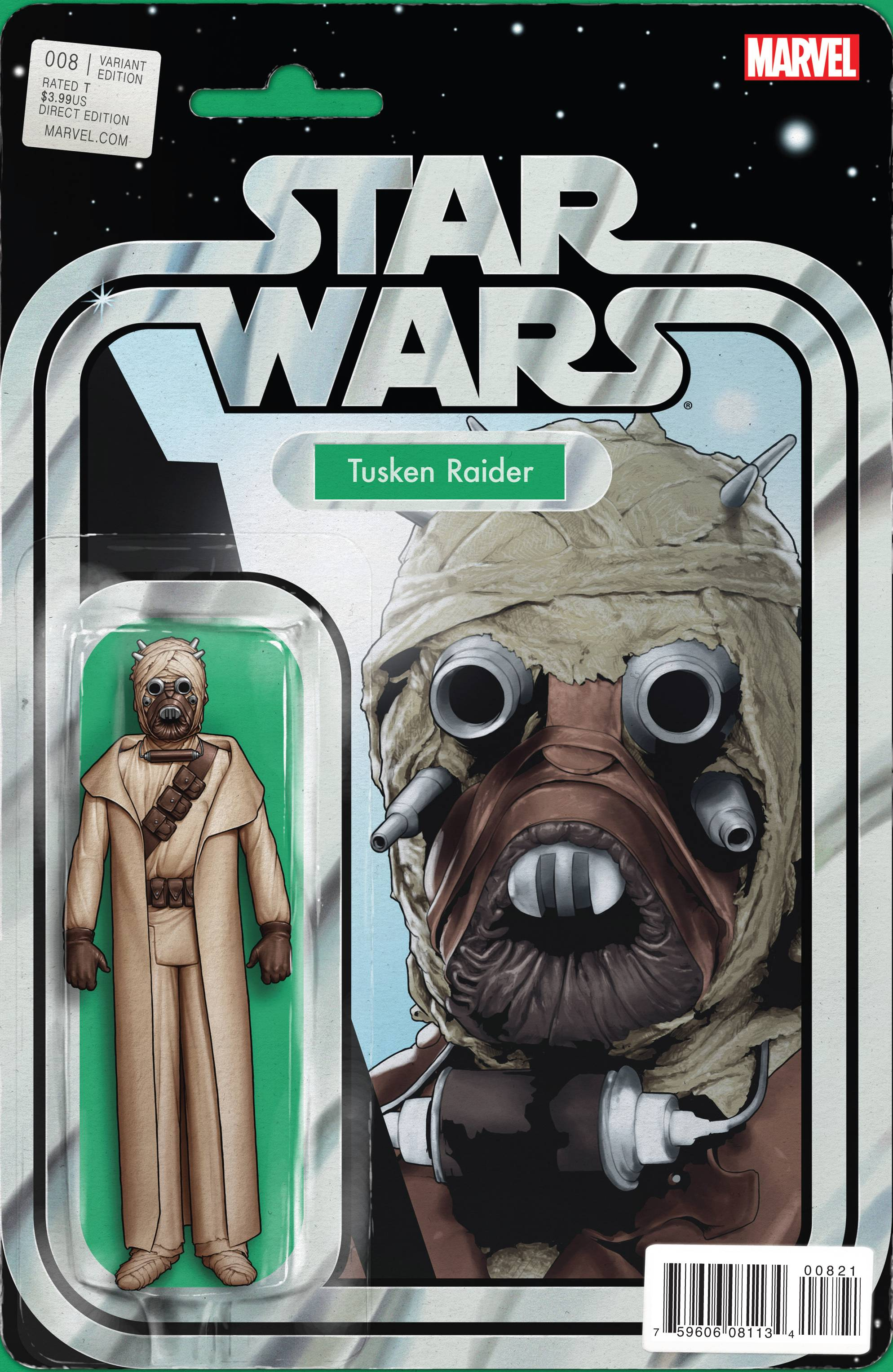 Star Wars #8 (Action Figure Variant Cover) (19.08.2015)