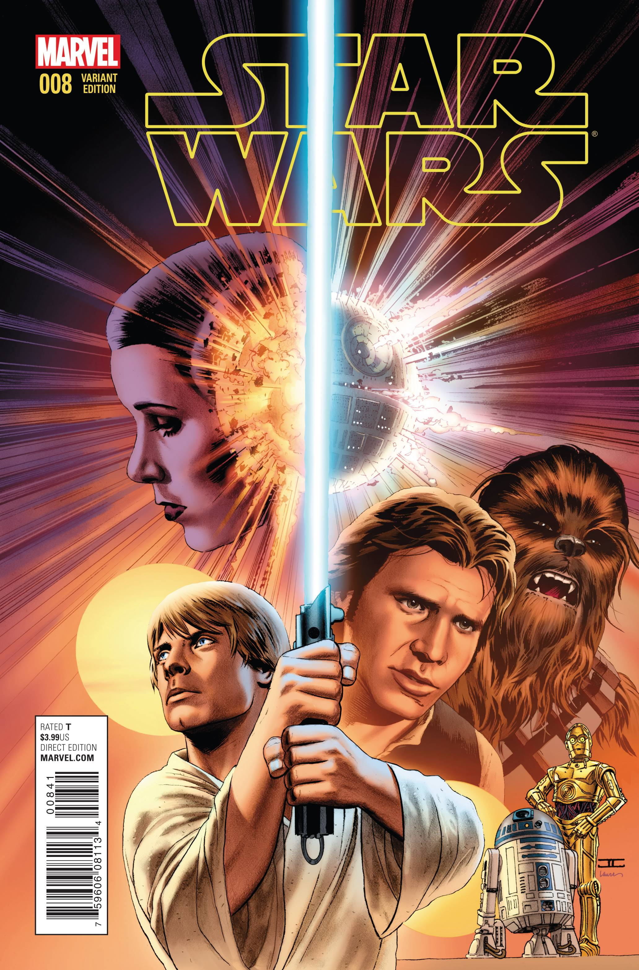 Star Wars #8 (John Cassaday Variant Cover) (19.08.2015)